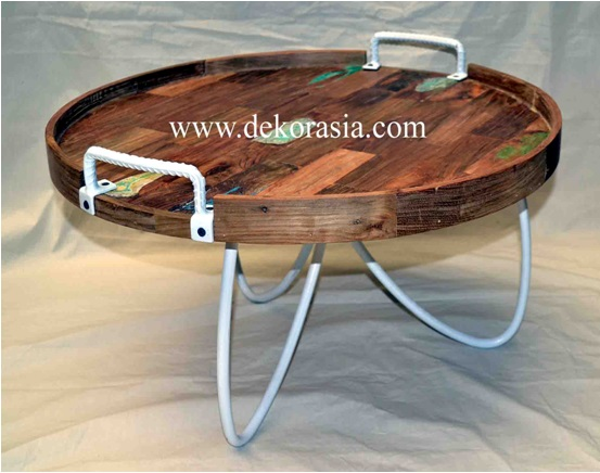 COOK ROUND TRAY TABLE
