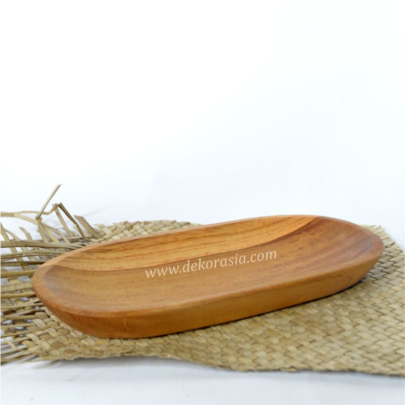 Teak Wood Oval Tray | Kitchen Tools | Wooden