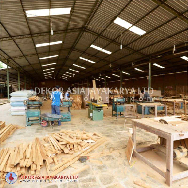 Factory For Machine Made Outdoor And Indoor Furniture In Jepara   Central  Java Indonesia