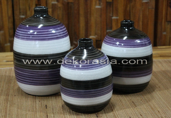 FLOWER VASE SET OF 3