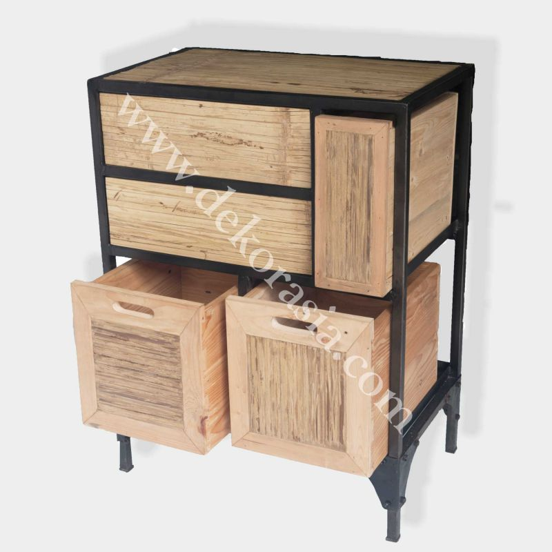 Chest of Drawer | Industrial Furniture | Iron Furniture