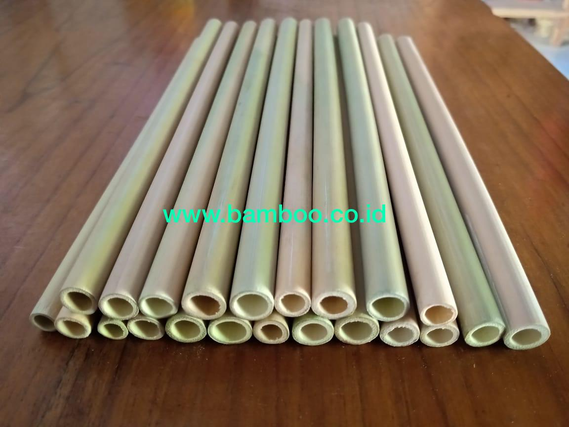 ORGANIC BAMBOO DRINKING STRAWS | REUSABLE | Bamboo Straws - 100% Natural