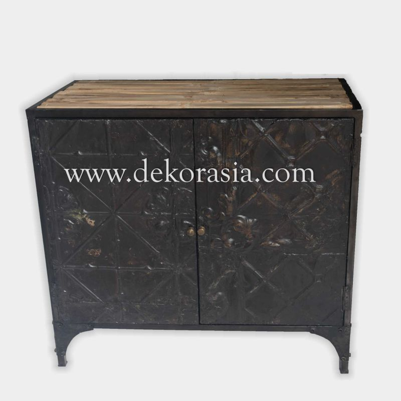 Buffet Two Doors  with Metal | Industrial Furniture | Iron Furniture