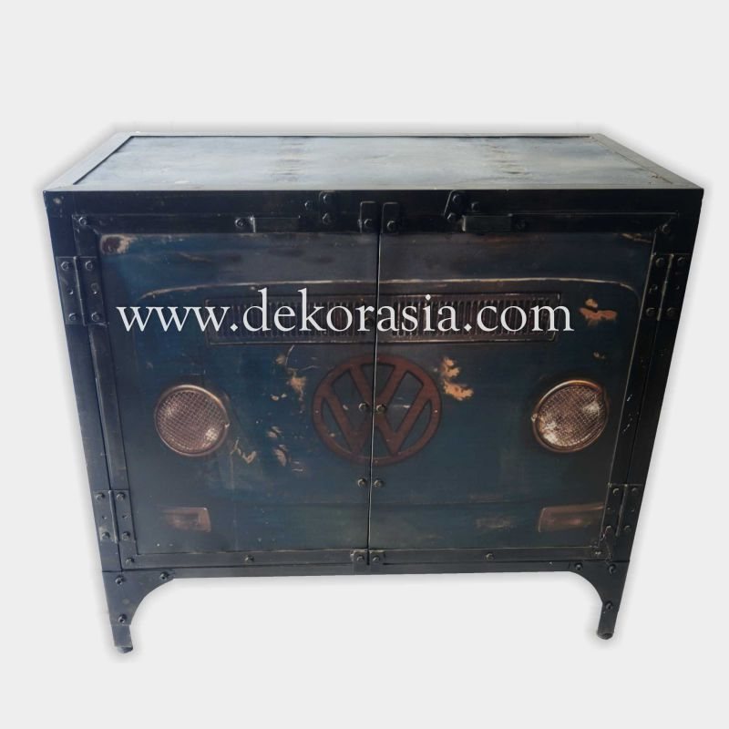 Cabinet 2 Doors (Type C) | Industrial Furniture | Iron Furniture