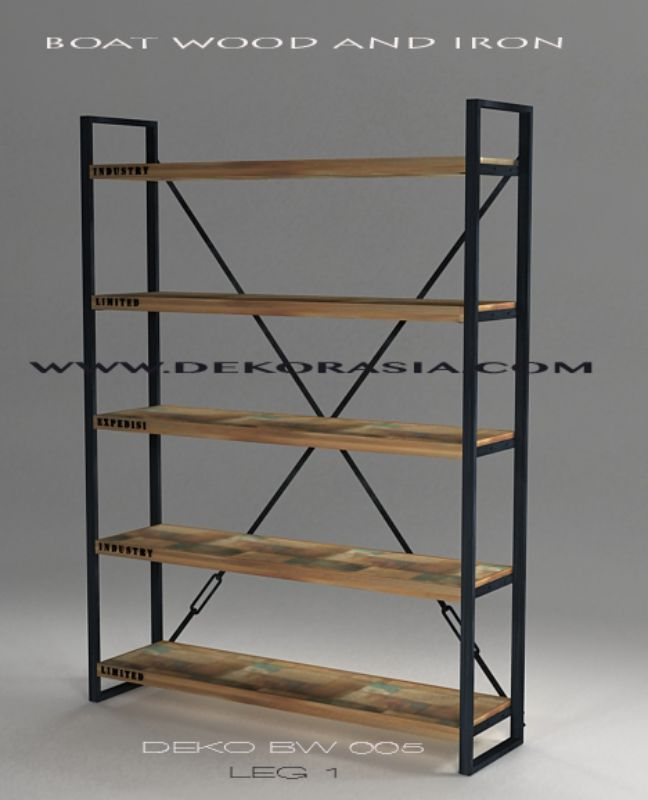 deko furniture. BOAT WOOD OPEN BOOK CASE - DEKO 05 LE Deko Furniture C