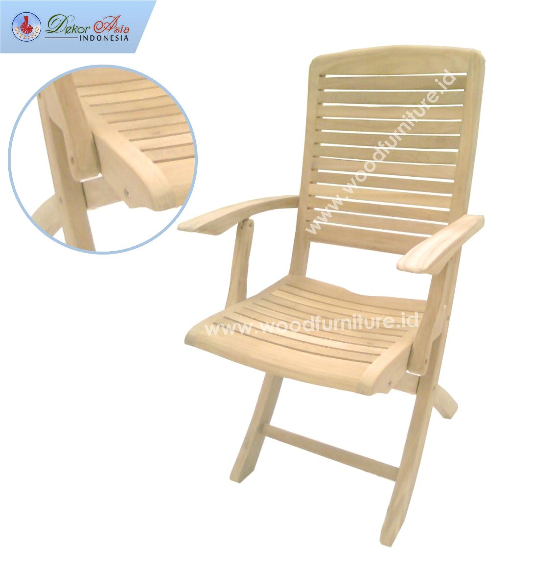 HIU 1 ARM CHAIR SS