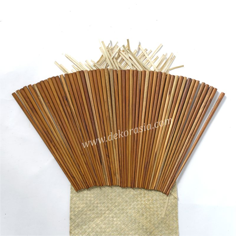 Teak Wooden Chopsticks L 9.5 Inc | Kitchen Tools | Wooden