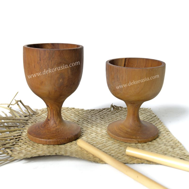 Teak Wine Goblet | Kitchen Tools | Wooden