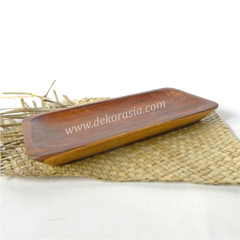 Natural Teak Wooden Tray | Kitchen Tools | Wooden