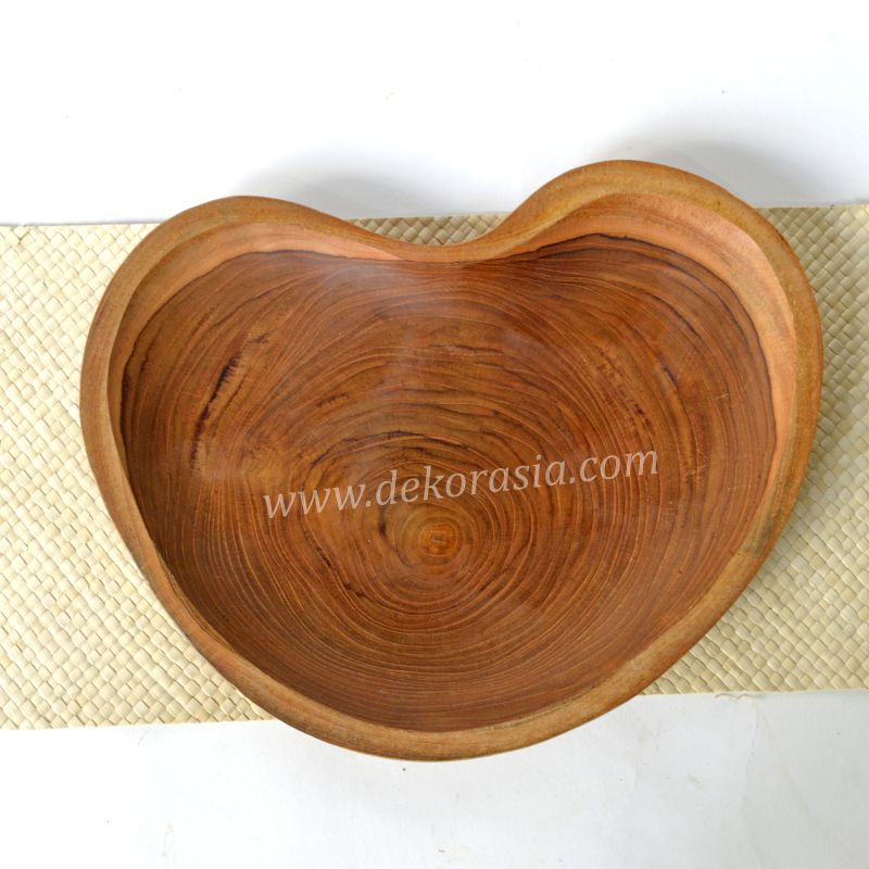 Teak Wood Tray Natural Shape | Kitchen Tools | Wooden