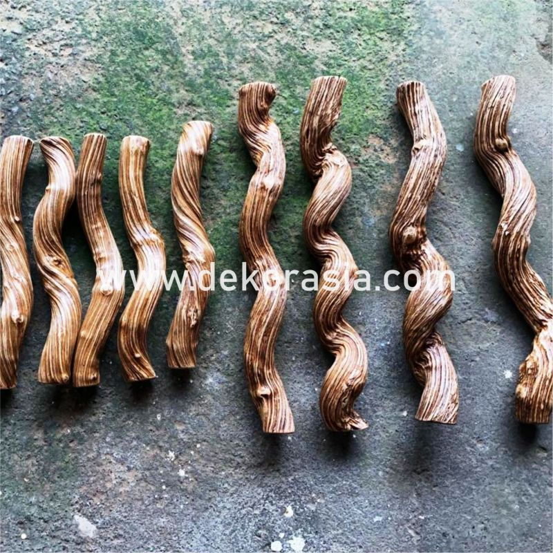Liana Wood Perches are made of natural wood