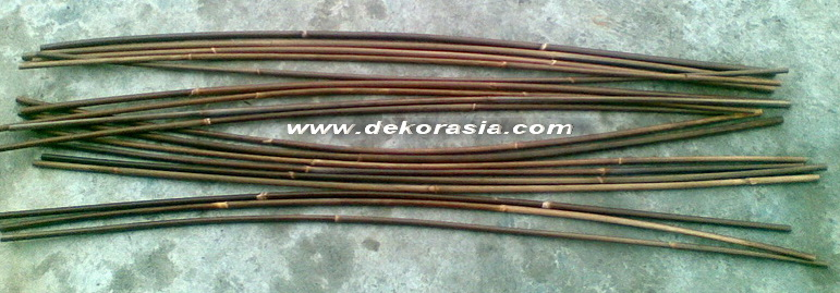 LONG JOINT RATTAN BROWN