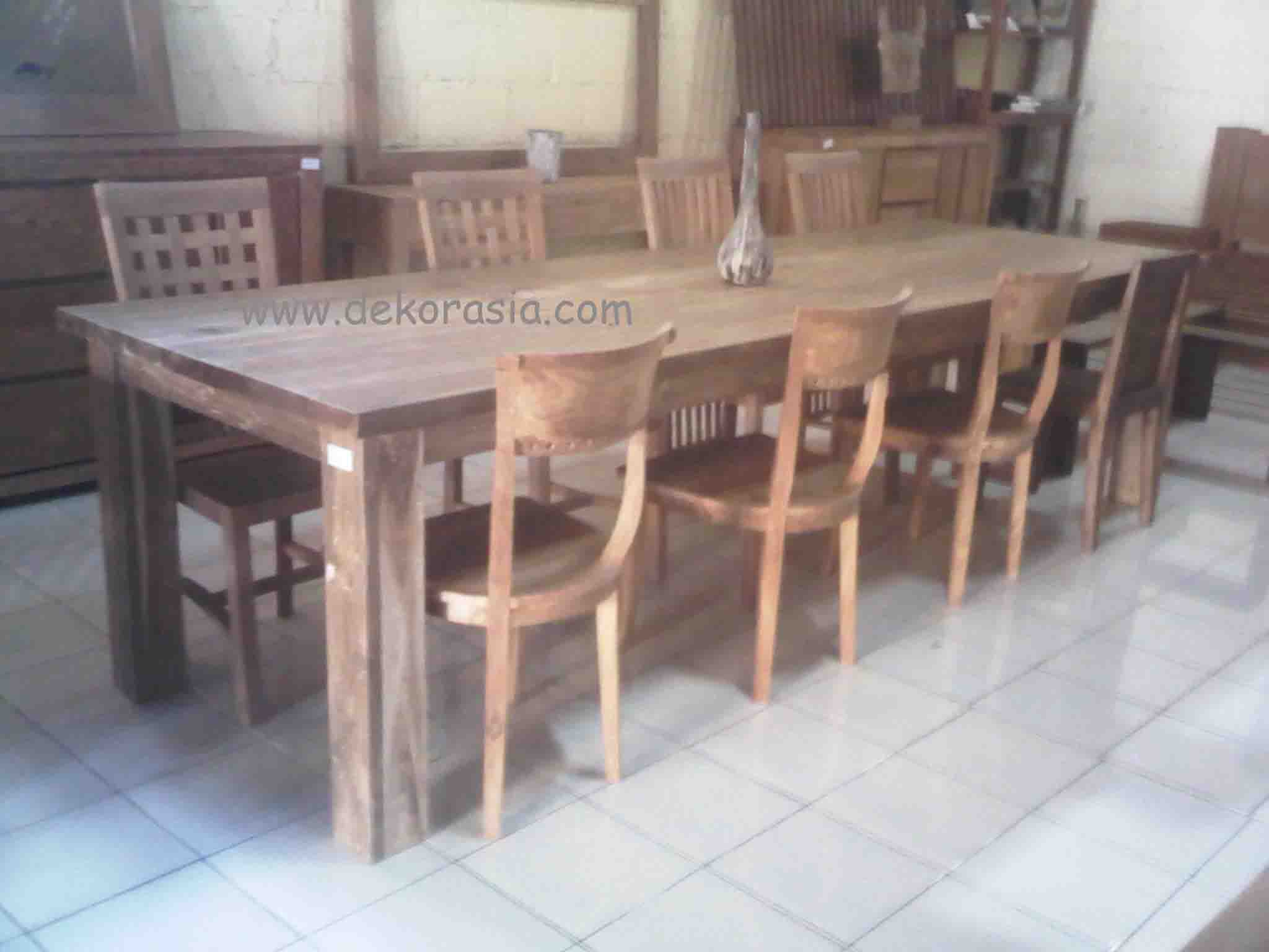 LONG DINING SET