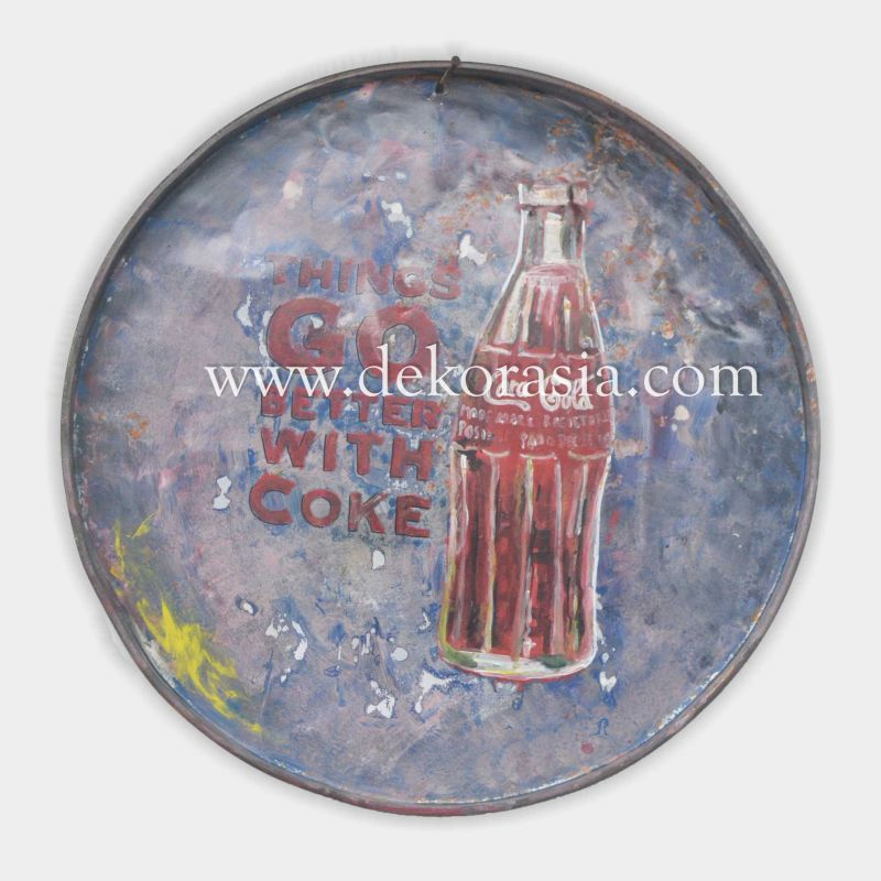 ROUND PAINTING | Industrial Furniture | Iron Furniture