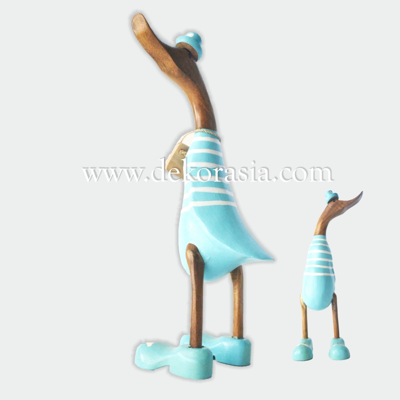 Stripe Light Blue | Bamboo Duck Craft | Bamboo Root Craft