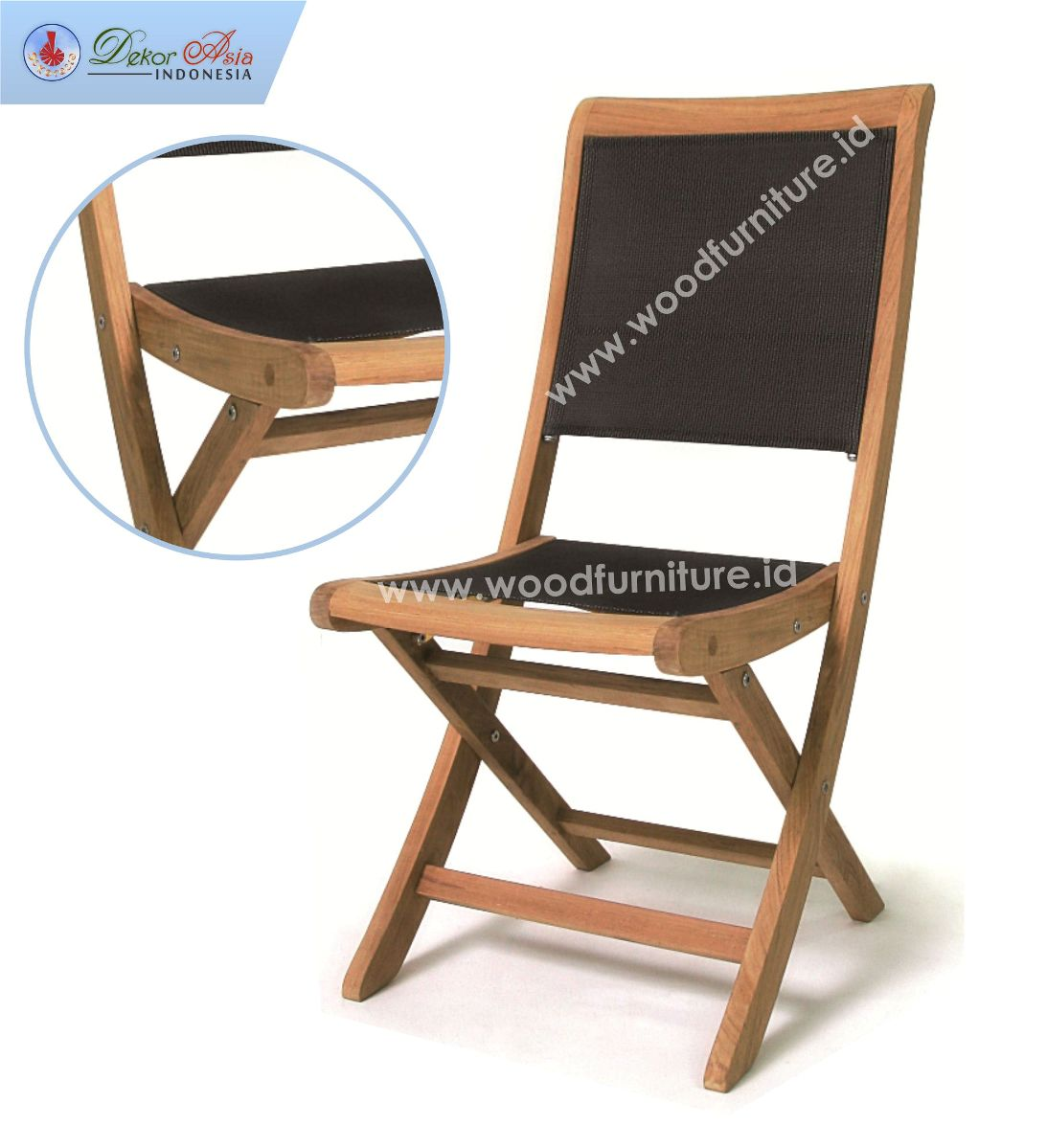 TEXAS FOLDING CHAIR BLACK