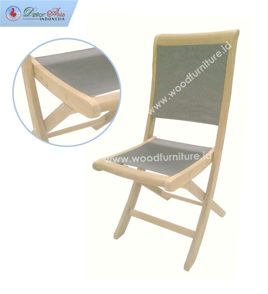 TEXAS FOLDING CHAIR GREY