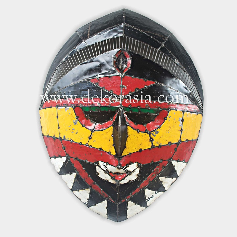 WALL DÉCOR MASK | Industrial Furniture | Iron Furniture