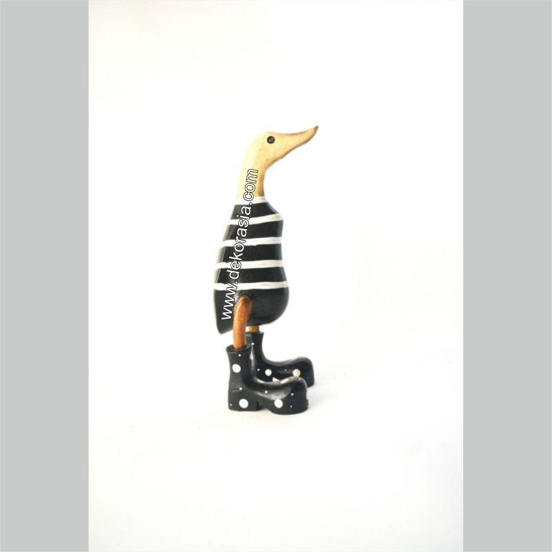 Stripe Black | Bamboo Duck Craft | Bamboo Root Craft