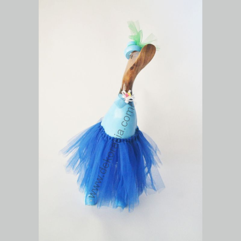Barbie Style Blue | Bamboo Duck | Bamboo Duck Craft | Bamboo Root Craft