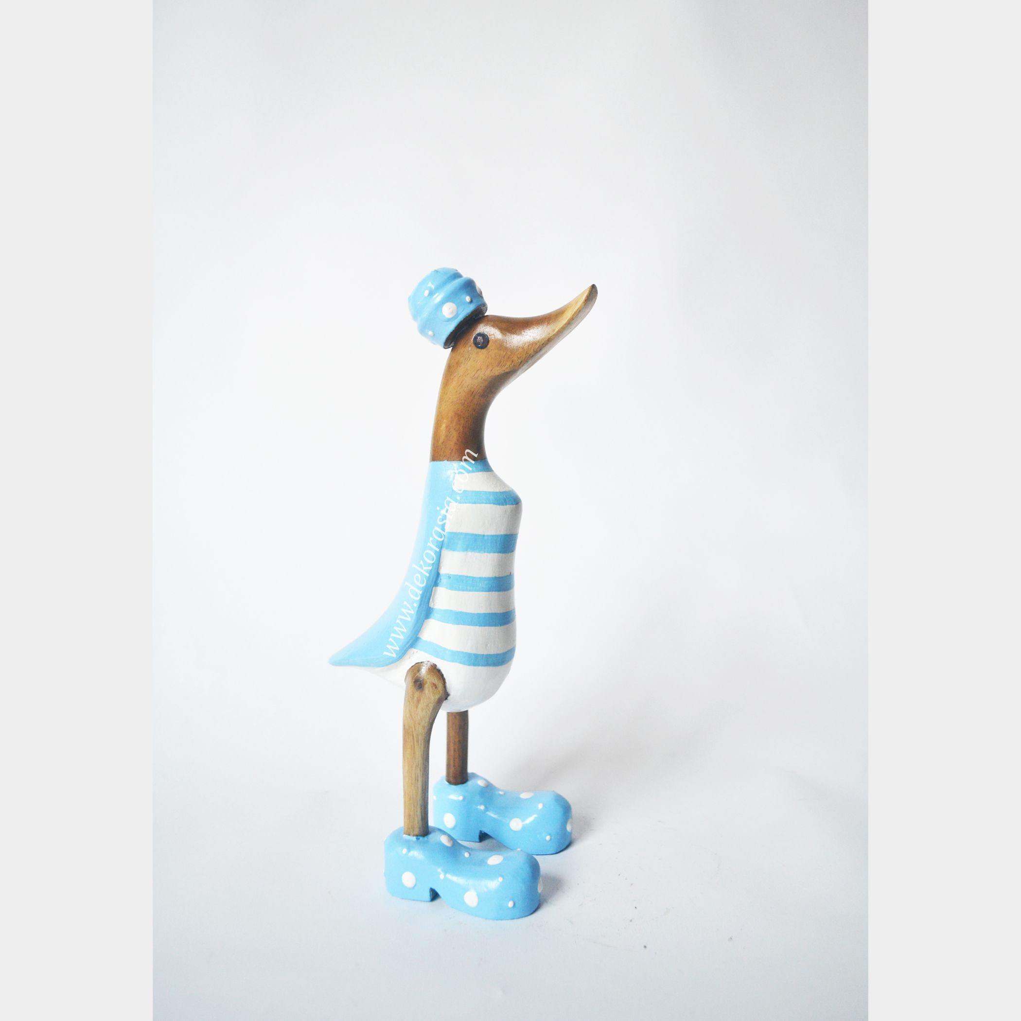 Stripe Blue | Bamboo Duck | Bamboo Duck Craft | Bamboo Root Craft