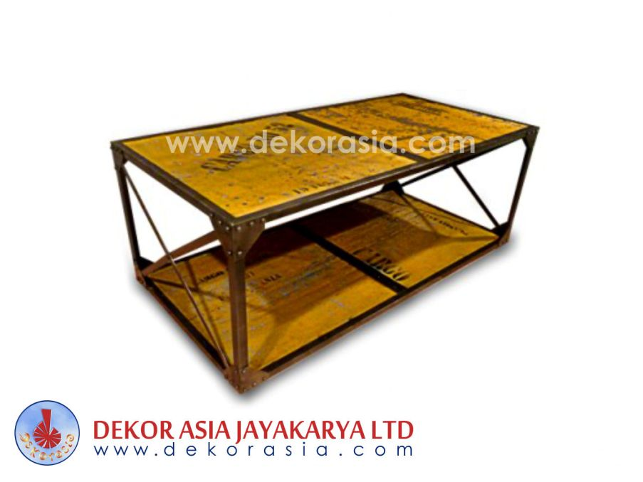 Iron Coffe Table - Iron Industrial Furniture - Iron manufacturer and manufacturer
