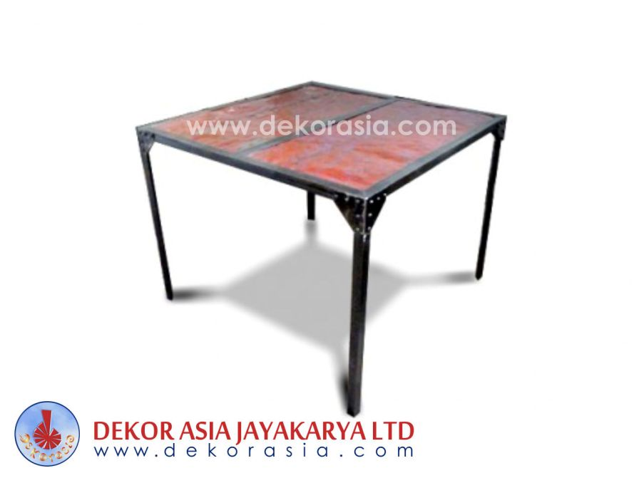 Iron Furniture Dining Table - Iron Industrial Furniture