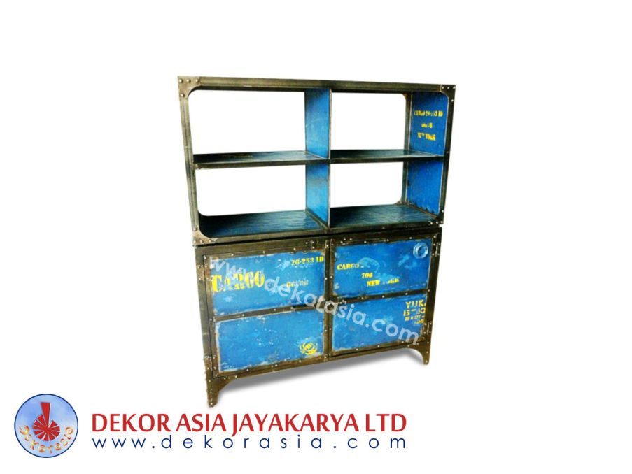 Iron Buffet 2 Door and Modular - Iron Industrial Furniture