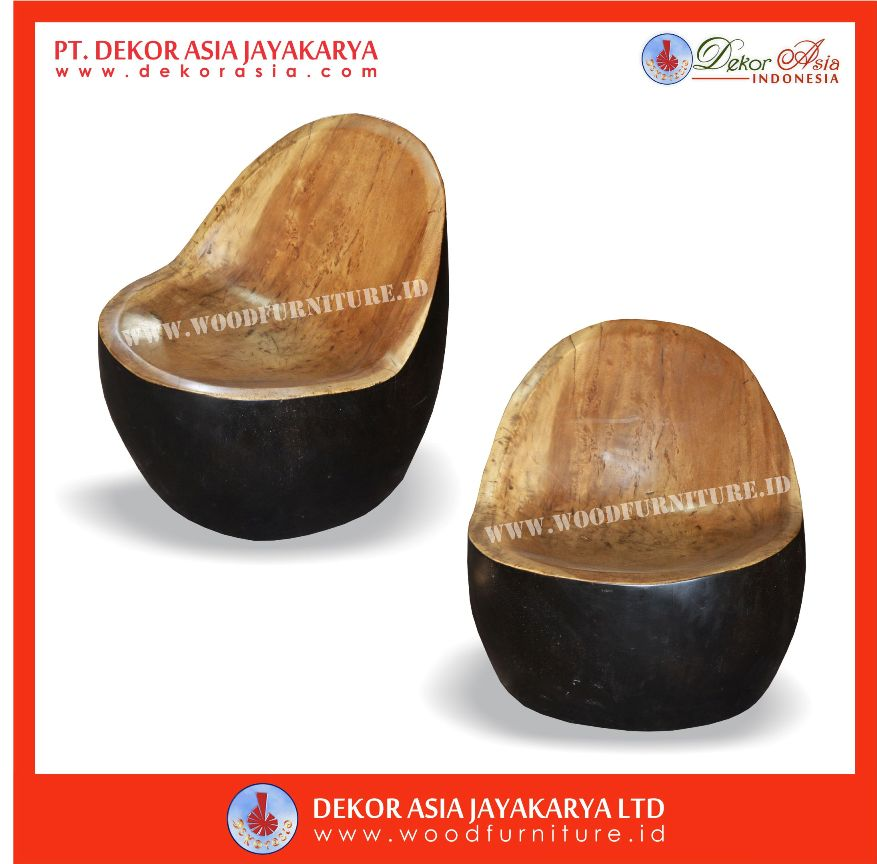 Wooden Chicken Suar Stool